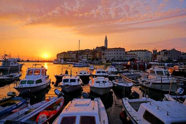 不止有亚德里亚海上最美的夕阳